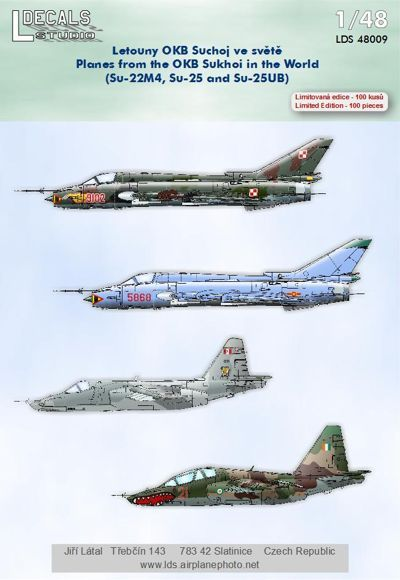 L Decals 1/48 OKB Sukhoi In The World # 48009