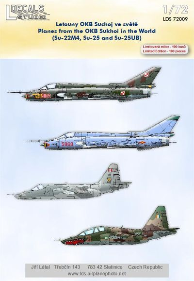 L Decals 1/72 OKB Sukhoi In The World # 72009