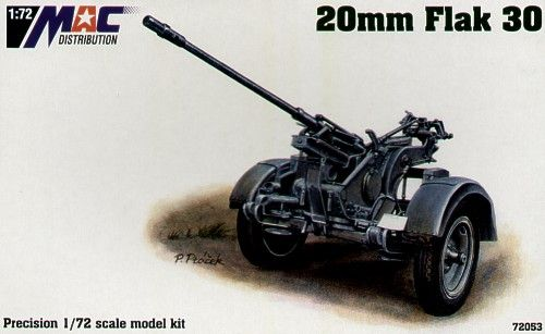 Mac Distribution 1/72 20mm Flak 30 # 72053