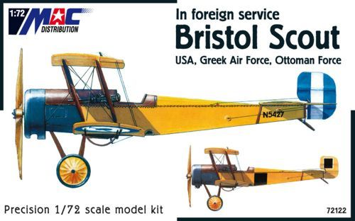 Mac Distribution 1/72 Bristol Scout in Foreign Service # 72122