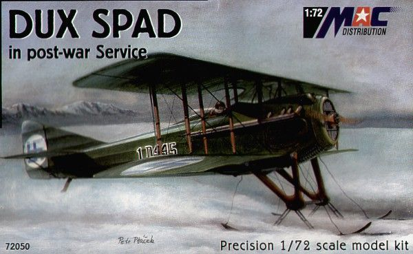 Mac Distribution 1/72 DUX Spad in Post War Service # 72050
