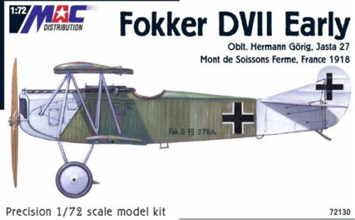 Mac Distribution 1/72 Fokker D. VII Early # 72130