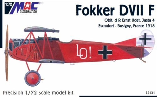 Mac Distribution 1/72 Fokker D. VIIF # 72131