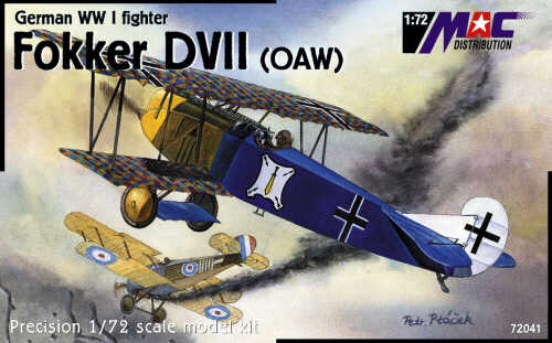 Mac Distribution 1/72 Fokker D.VII (OAW) # 72041