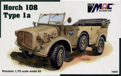 Mac Distribution 1/72 Horch 108 Type 1a # 72055