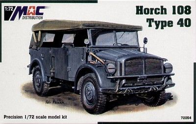 Mac Distribution 1/72 Horch 108 Type 40 # 72054