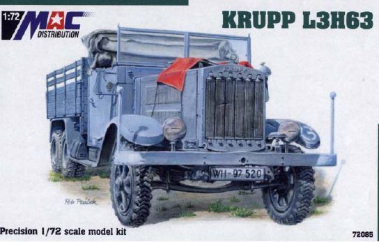 Mac Distribution 1/72 Krupp L3H63 # 72085