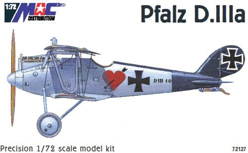 Mac Distribution 1/72 Pfalz D. IIIa # 72127