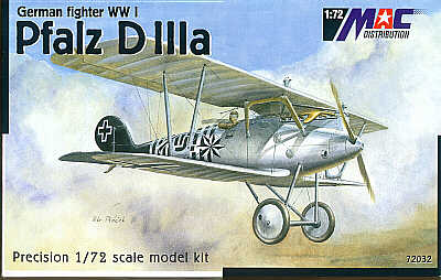 Mac Distribution 1/72 Pfalz D.IIIa # 72032