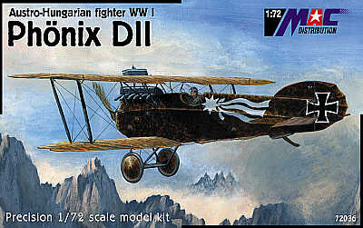 Mac Distribution 1/72 Phonix D.II # 72036