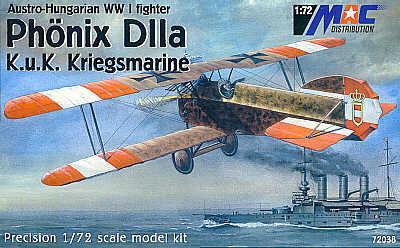 Mac Distribution 1/72 Phonix D.IIa K.u.K Kriegsmarine # 72038