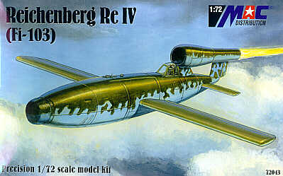 Mac Distribution 1/72 Reichenberg ReIV (Fi-103) # 72043