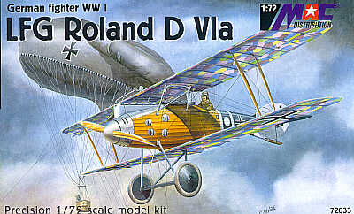 Mac Distribution 1/72 Roland D.VIa # 72033