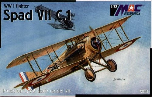 Mac Distribution 1/72 Spad VIIC.1 France/Italy # 72048