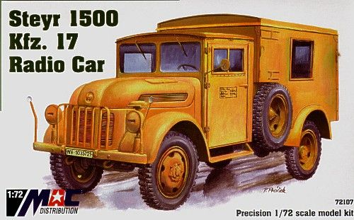 Mac Distribution 1/72 Steyr 1500 Kfz. 17 Radio Car # 72107