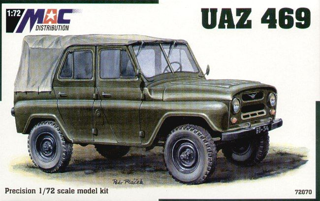 Mac Distribution 1/72 UAZ 469 # 72070