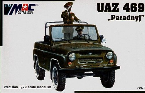 Mac Distribution 1/72 UAZ-469 Paradnyj # 72071