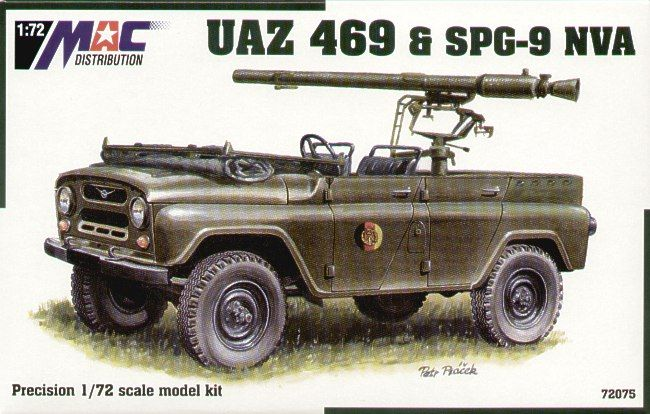 Mac Distribution 1/72 UAZ 469 & SPG-9 NVA # 72075