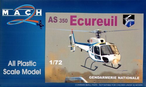 Mach 2 1/72 AS-350 Ecureuil French Gendarmerie # 7259