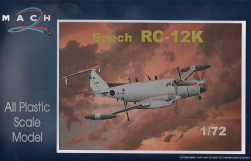 Mach 2 1/72 Beech RC-12K Electronic Warfare # 7249
