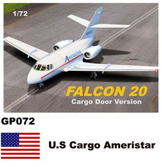 Mach 2 1/72 Dassault-Mystere Falcon 20 Cargo Door Version # GP072