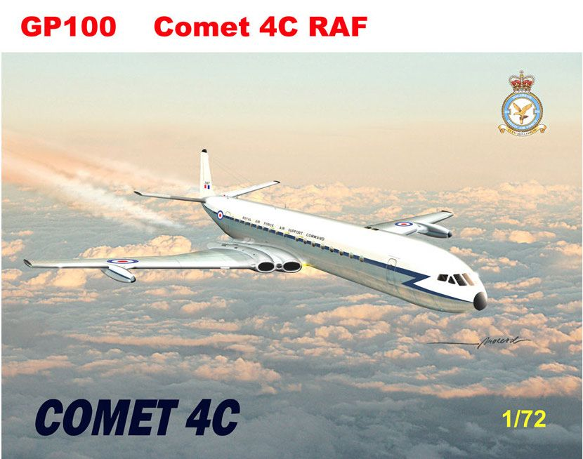 Mach 2 1/72 de Havilland Comet 4C RAF # GP100