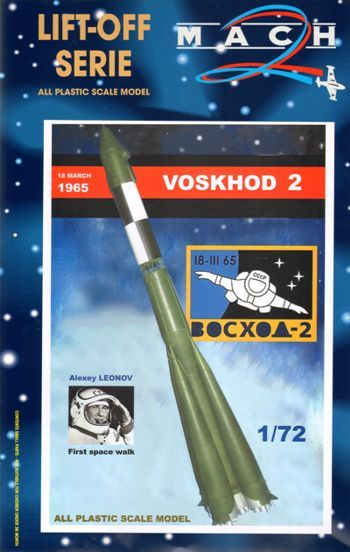 Mach 2 1/72 Voskhod 2 - First Space Walk # L017