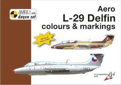 Mark I Guide 1/48 Aero L-29 'Delfin' Colours and Markings # 48007