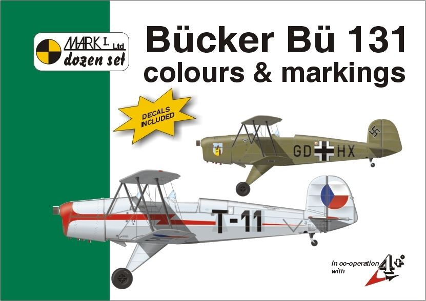 Mark I Guide 1/48 Bucker Bu-131 Colours and Markings # 48003