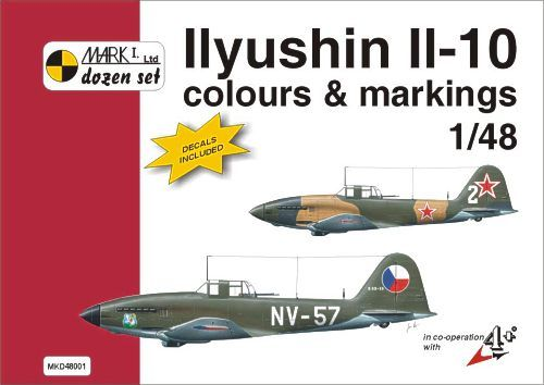 Mark I Guide 1/48 Ilyushin Il-10 Colours and Markings # 48001