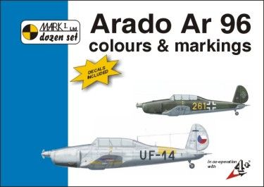 Mark I Guide 1/72 Arado Ar-96 Colours and Markings # 72002