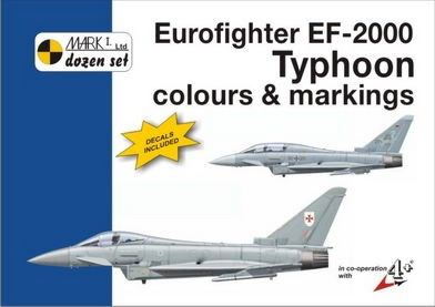 Mark I Guide 1/72 Eurofighter EF-2000 Typhoon Colours and Markings # 72006