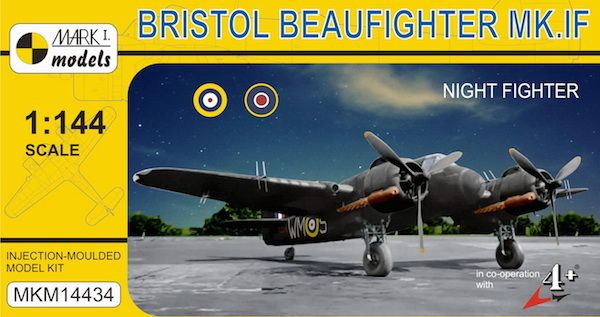 Mark I Models 1/144 Bristol Beaufighter Mk.IF 'Night Fighter' # 14434