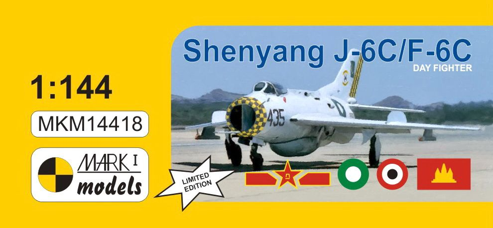 Mark I Models 1/144 Shenyang J-6C/F-6C 'Day Fighter' Limited Edition # 14418