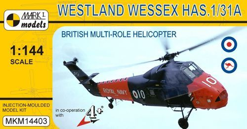 Mark I Models 1/144 Westland Wessex HAS.1/HAS.31A # 14403