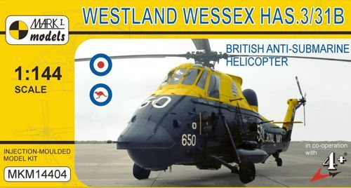 Mark I Models 1/144 Westland Wessex HAS.3/HAS.31B # 14404