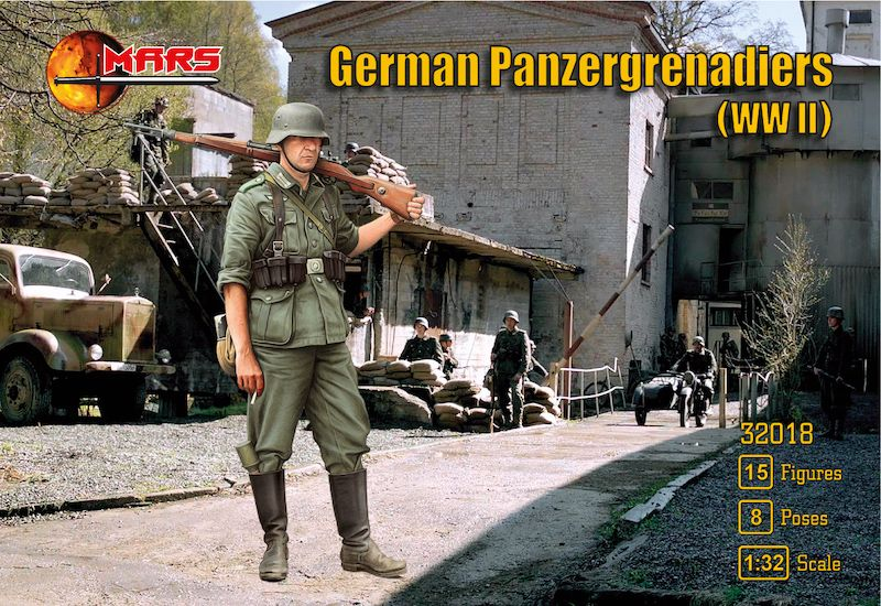Mars 32017 German Luftwaffe Field Division WW2 1//32 Plastic toy soldiers