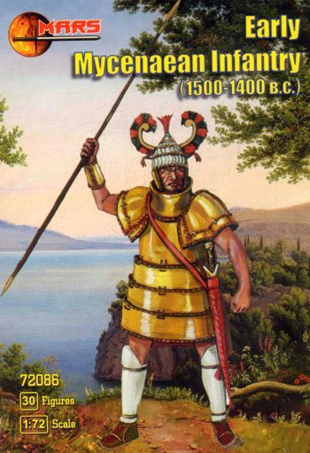 Mars 1/72 Early Mycenaean Infantry # 72086