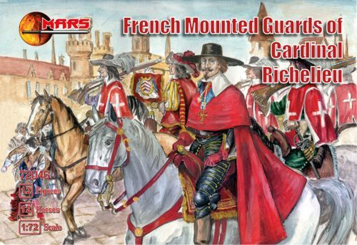 Mars 1/72 French Mounted Guards of Cardinal Richelieu # 72046