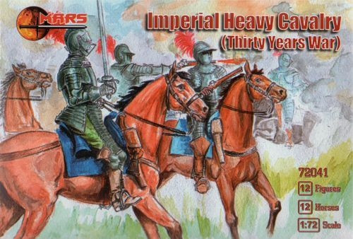 Mars 1/72 Imperial Heavy Cavalry Thirty Years War # 72041