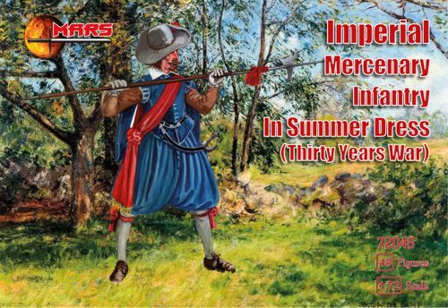 Mars 1/72 Imperial Mercenary Infantry in Summer Dress (Thirty Ye