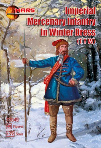 Mars 1/72 Imperial Mercenary Infantry in Winter Dress (Thirty Ye