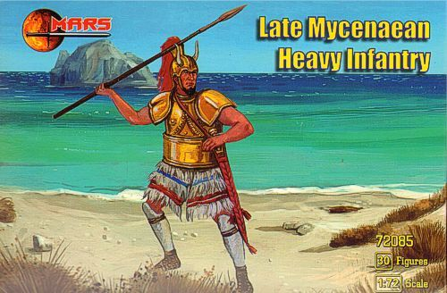 Mars 1/72 Later Mycenaean Heavy Infantry # 72085