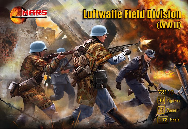 Mars 1/72 Luftwaffe Field Division (WWII) # 72110