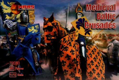 Mars 1/72 Medieval Knights Baltic Crusades # 72030