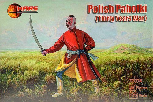 "Mars 1/72 Polish ""Paholki"" Thirty Years War # 72074"