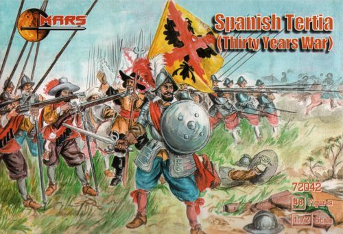 Mars 1/72 Spanish Tertia Thirty Years War # 72042