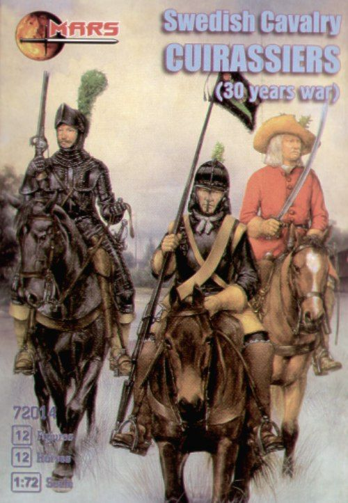 Mars 1/72 Swedish Cavalry Cuirassiers Thirty Years War # 72014