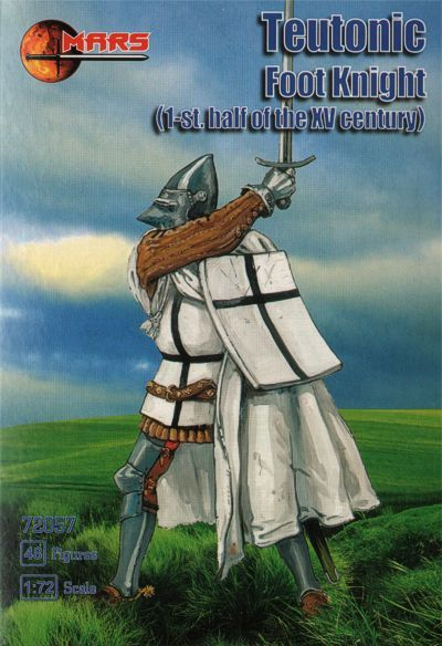 Mars 1/72 Teutonic Foot Knight (1st half of the XV Century) # 72