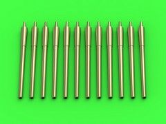Master 1/700 USN 14in/50 (35,6cm) Gun Barrels - for Turrets with Blastbags # SM700051